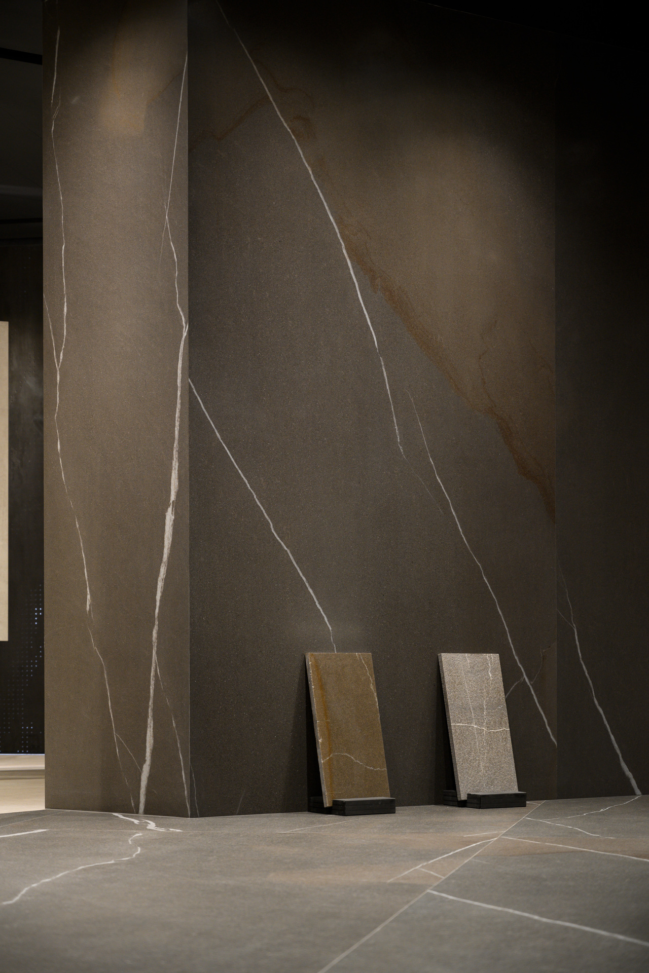 Large Porcelain Slabs Showroom Ariostea
