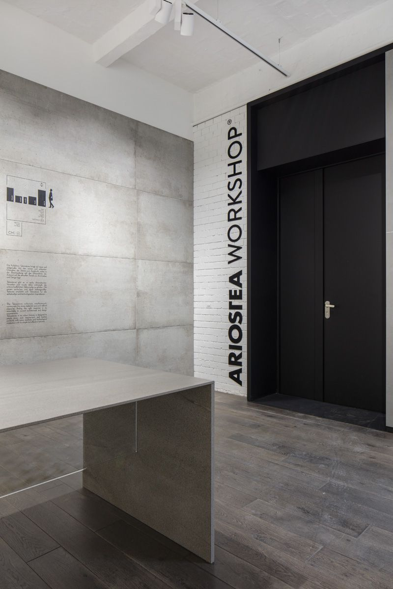Sarotti hfe berlin ariostea floor and wall covering shop large porcelain slabs sarotti hfe showroom berlin dailygadgetfo Gallery