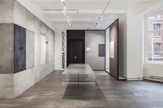 Large Porcelain Slabs - Sarotti Höfe Showroom Berlin