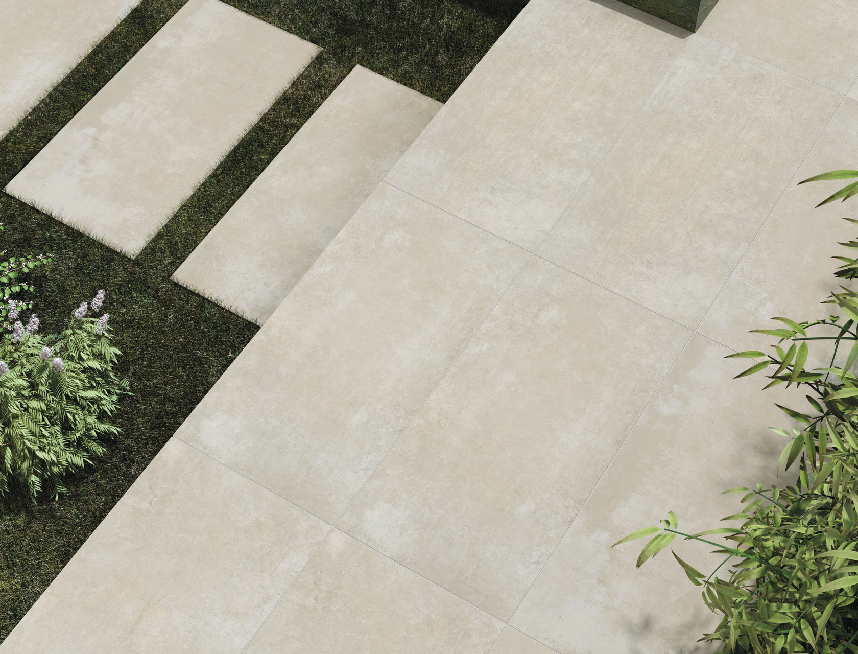 CM2 Natural Stones and High-Tech Woods for outdoor floors