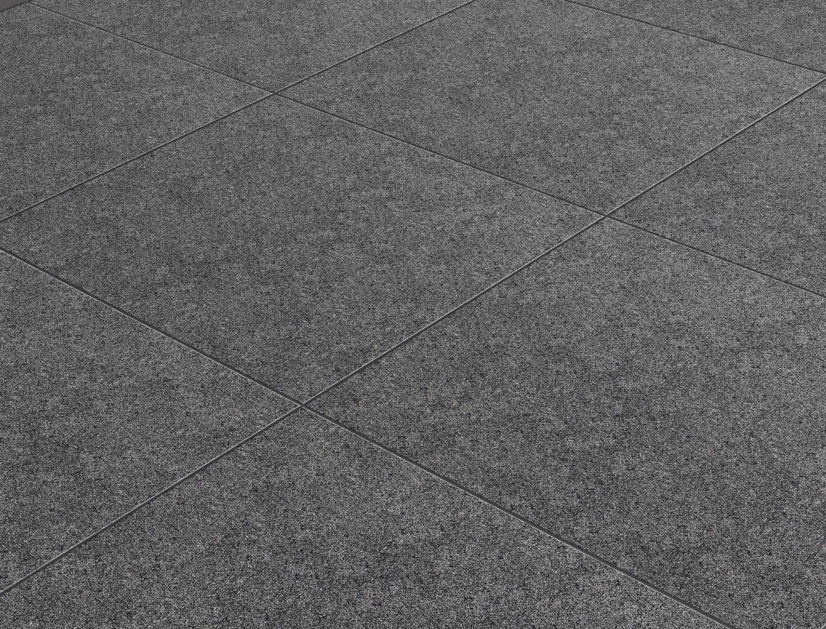 Stone Effect Black Porcelain Tiles Absolute Black