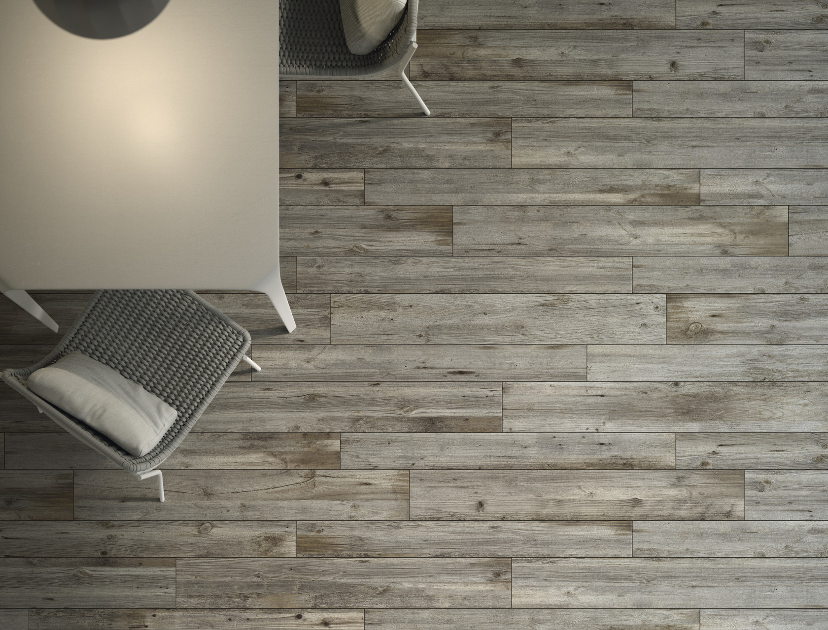 Wood Effect Grey Porcelain Tiles Quercia Petraea
