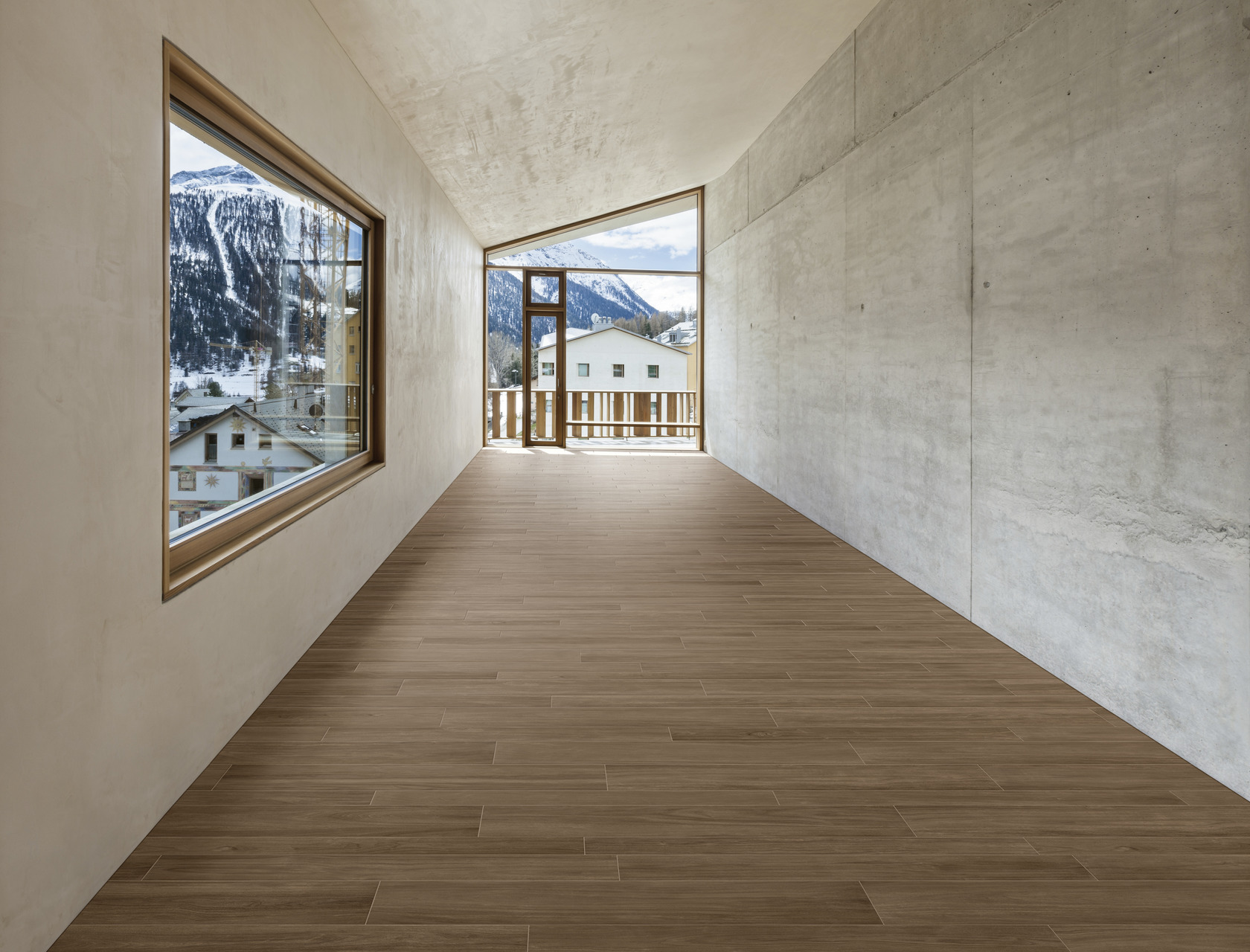 Wood Effect  Porcelain Tiles ROVERE CORTECCIA
