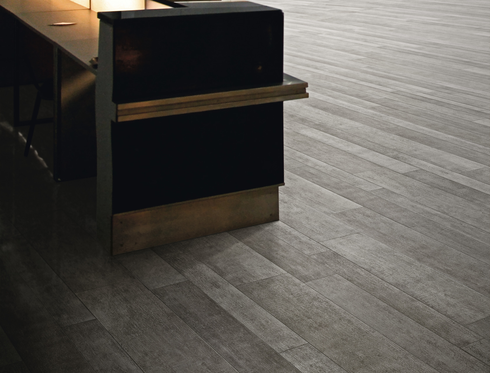 Wood Effect Grey Porcelain Tiles Rovere Grigio
