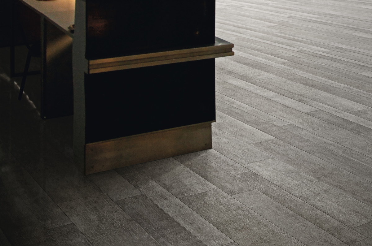 Pavimento Gres Rovere Sbiancato rovere grey porcelain tiles wood effect