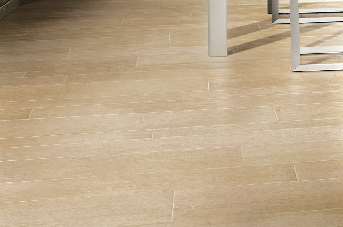 Pavimento Gres Rovere Sbiancato natural wood effect porcelain tiles | rovere naturale