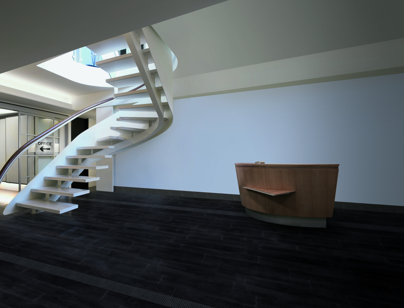 Wood effect porcelain tiles black for indoor and outdoor use ...