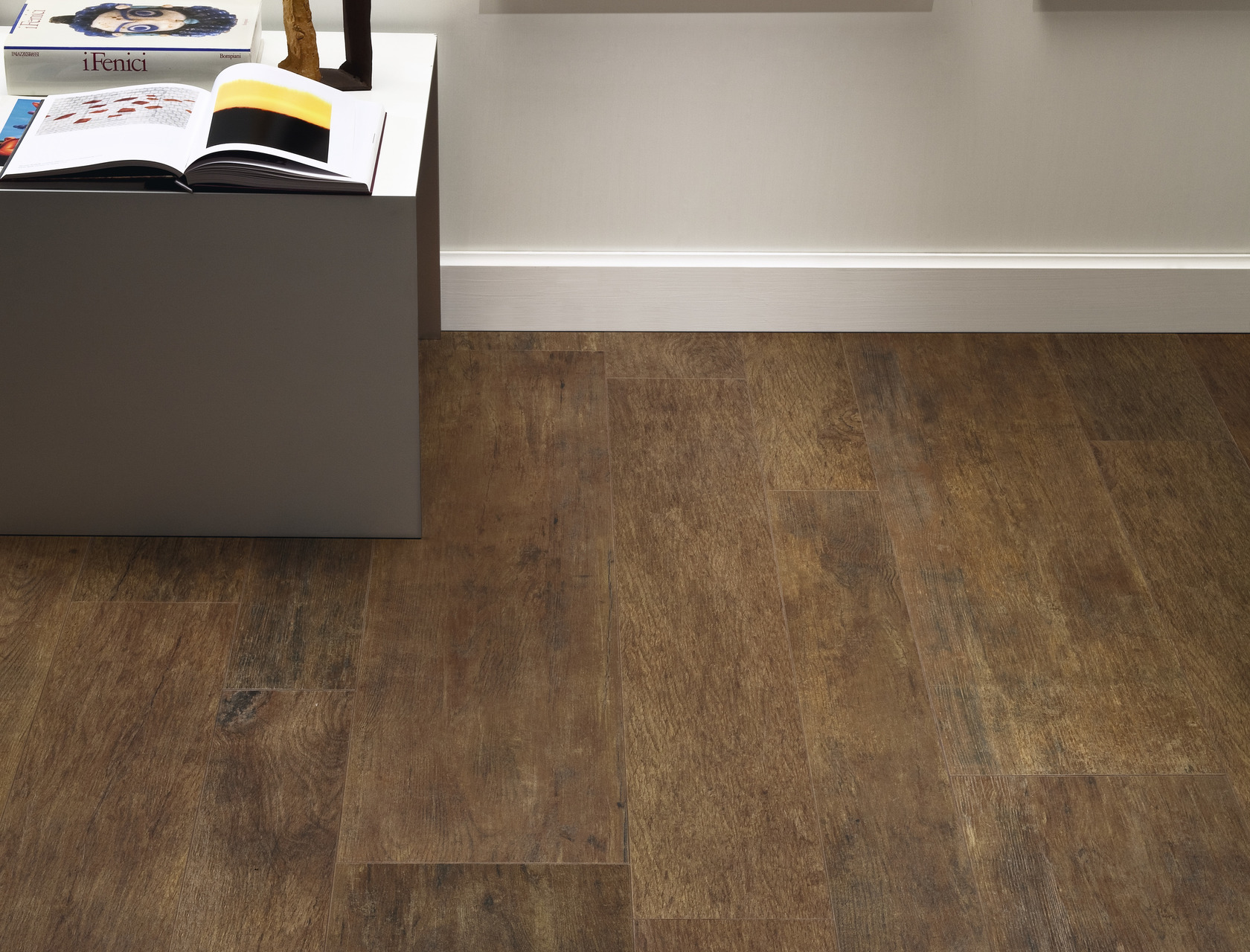 Wood Effect Beige Porcelain Tiles Rovere Reale