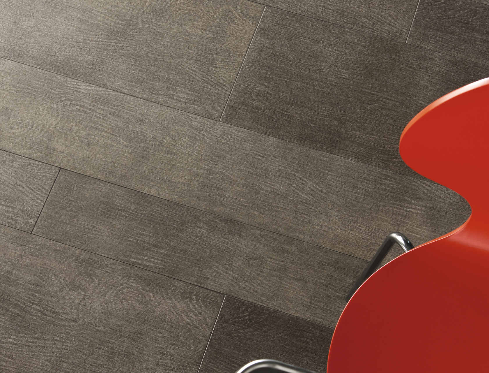 Wood Effect Brown Porcelain Tiles Rovere Tundra