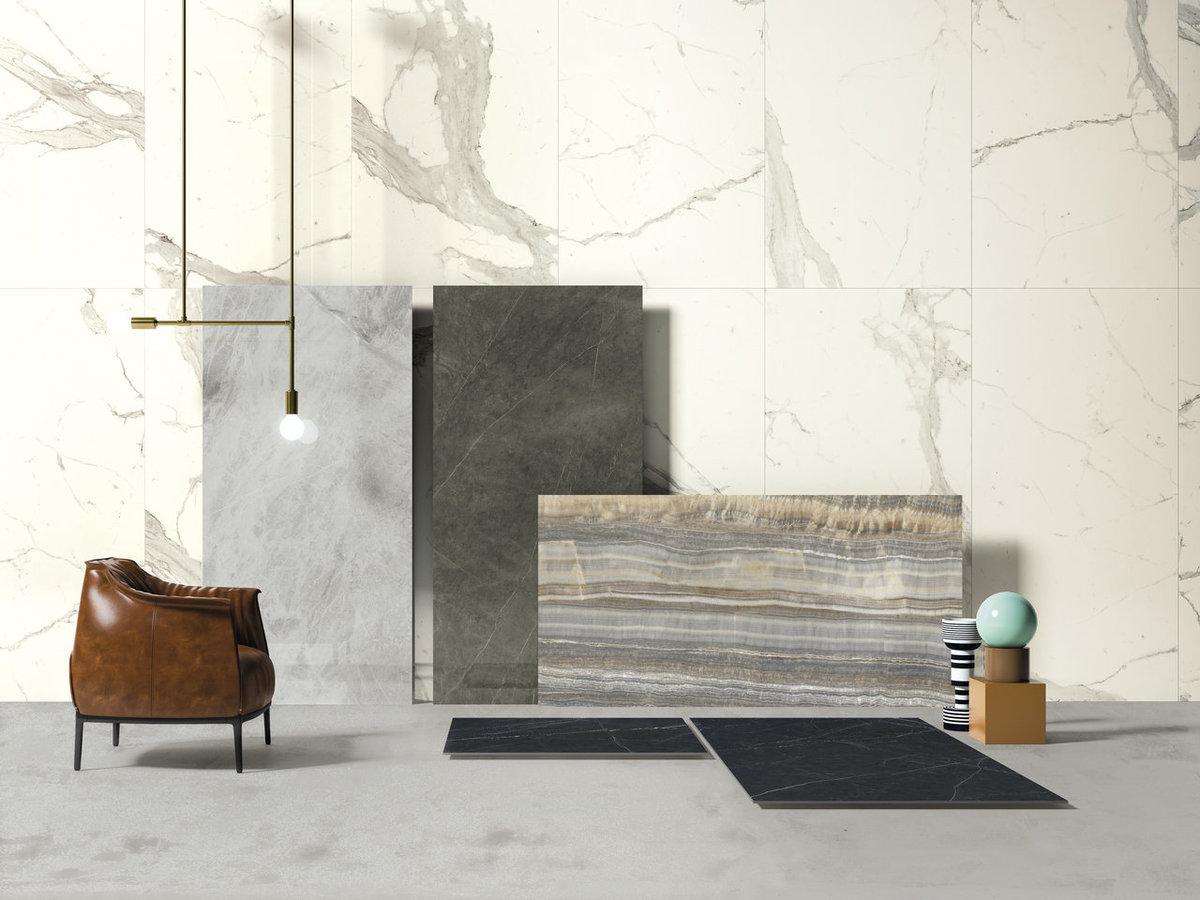 Statuario Altissimo Marmi Cento2cento White Marble Effect