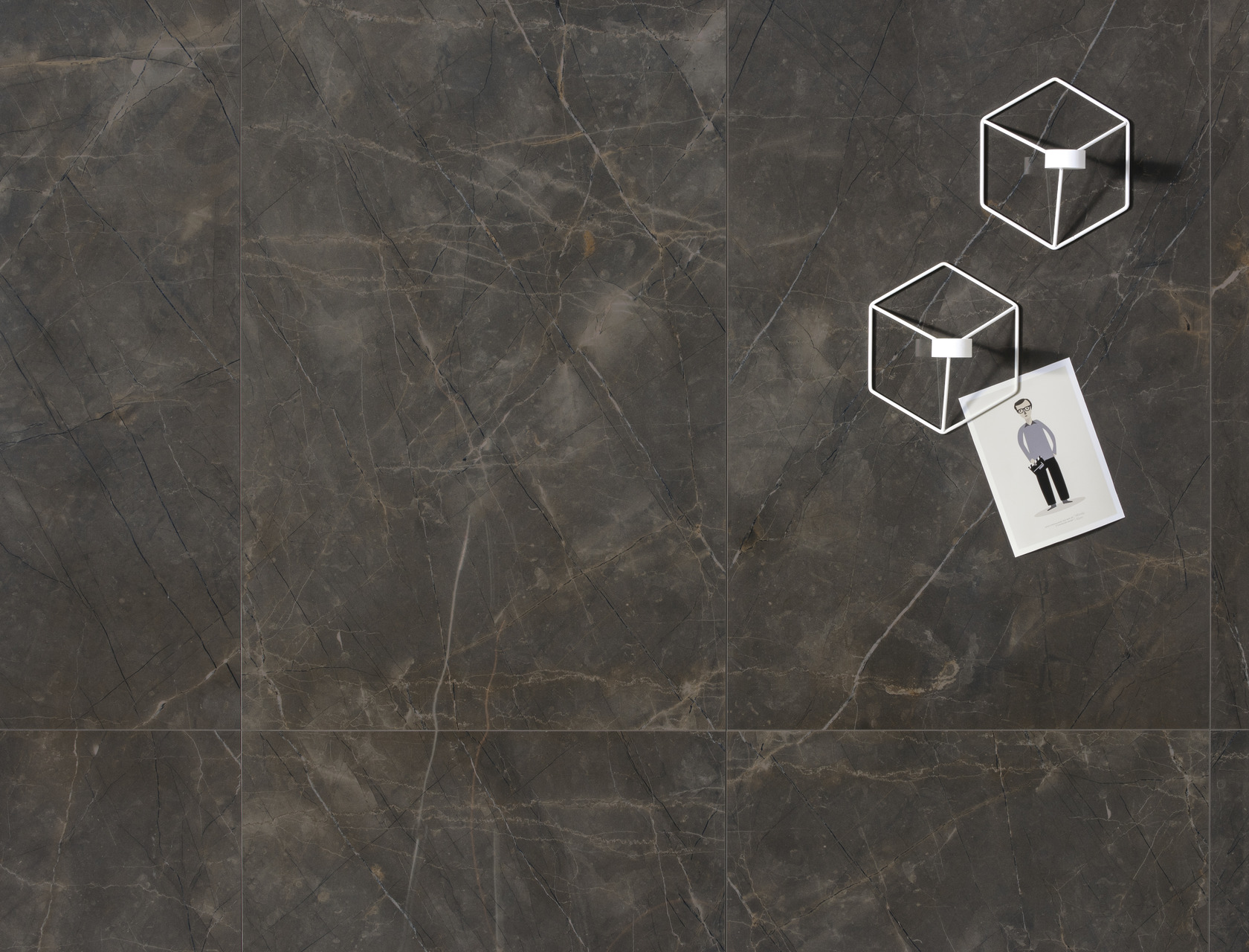 Marble Effect Grey Porcelain Tiles Pulpis Grey