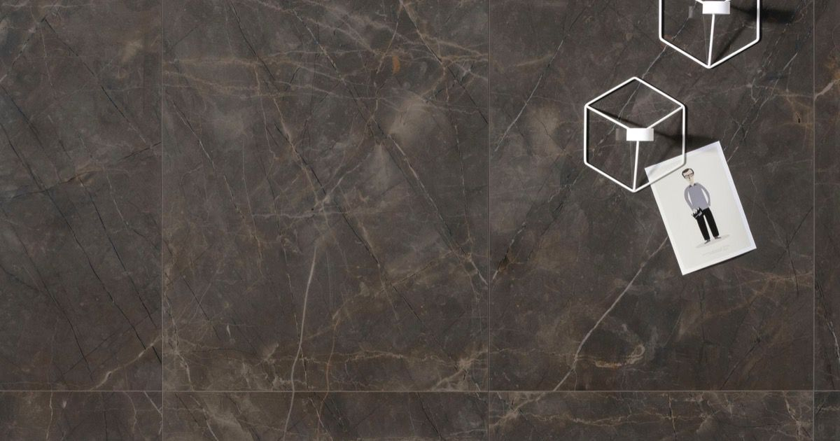 Pulpis Grey Marmi Classici Grey Marble Effect Porcelain Tiles