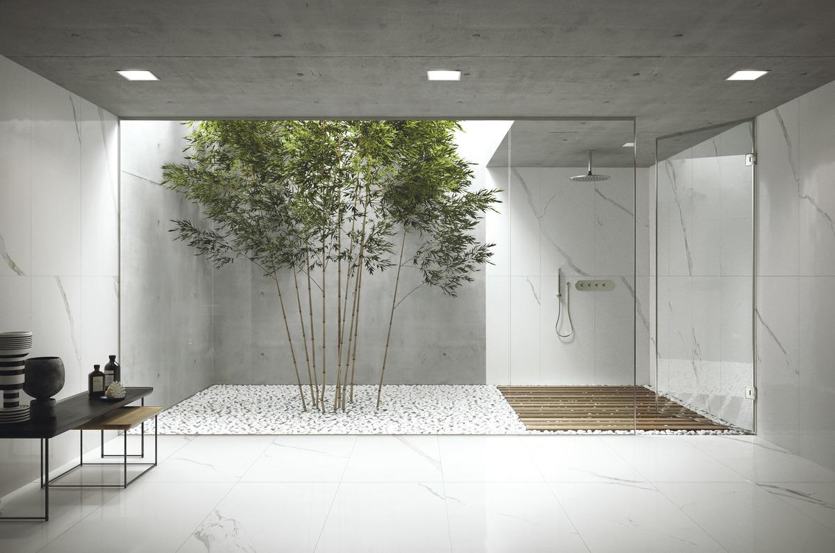 White Porcelain Tiles Statuario Classico Marmi Classici