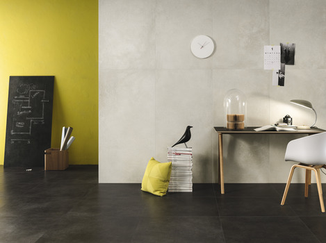 Cement / Resin Effect Anthracite Floors
