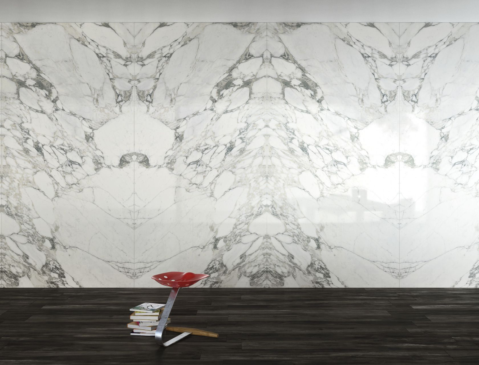 Marble Effect White Large Slabs Arabescato Statuario