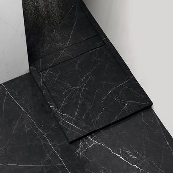 Marble Effect Black Floors