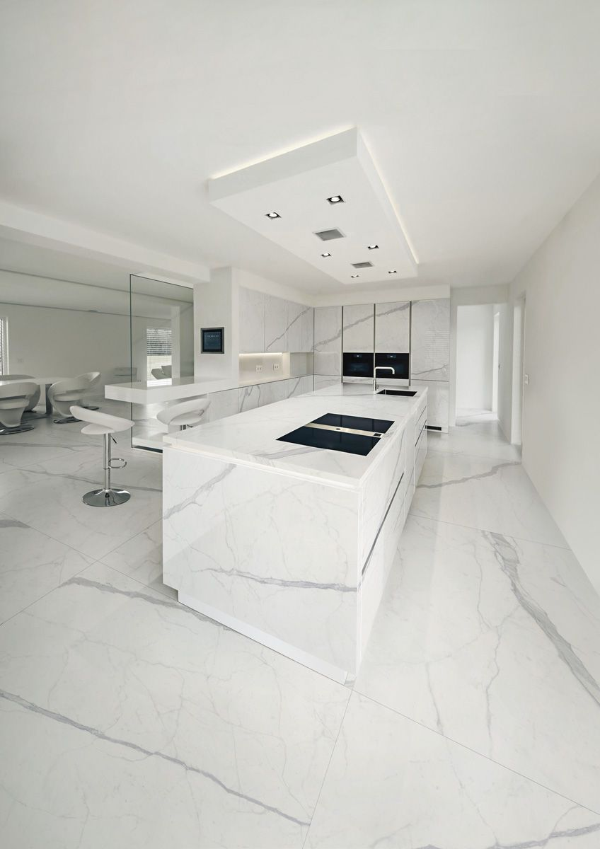 Statuario Altissimo Ultra Marmi Big White Marble Effect Slabs
