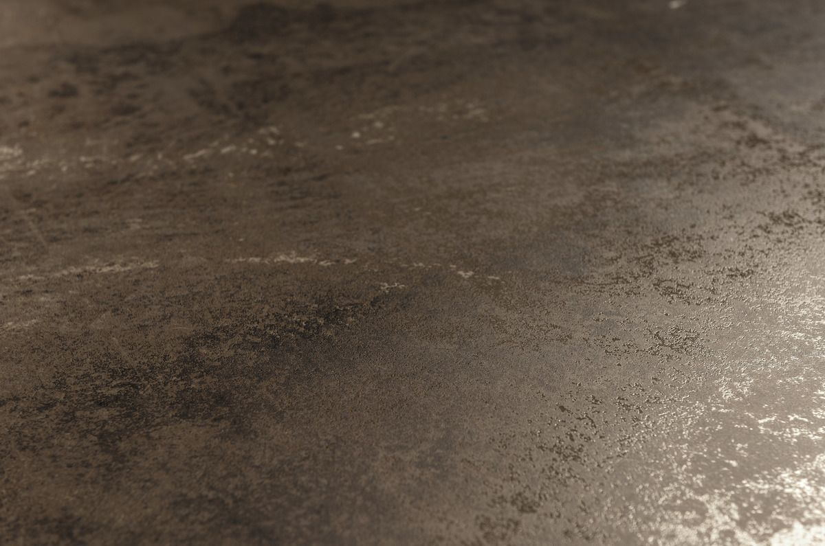Brown Zinc Ultra Metal Brown Metal Effect Floor And Wall