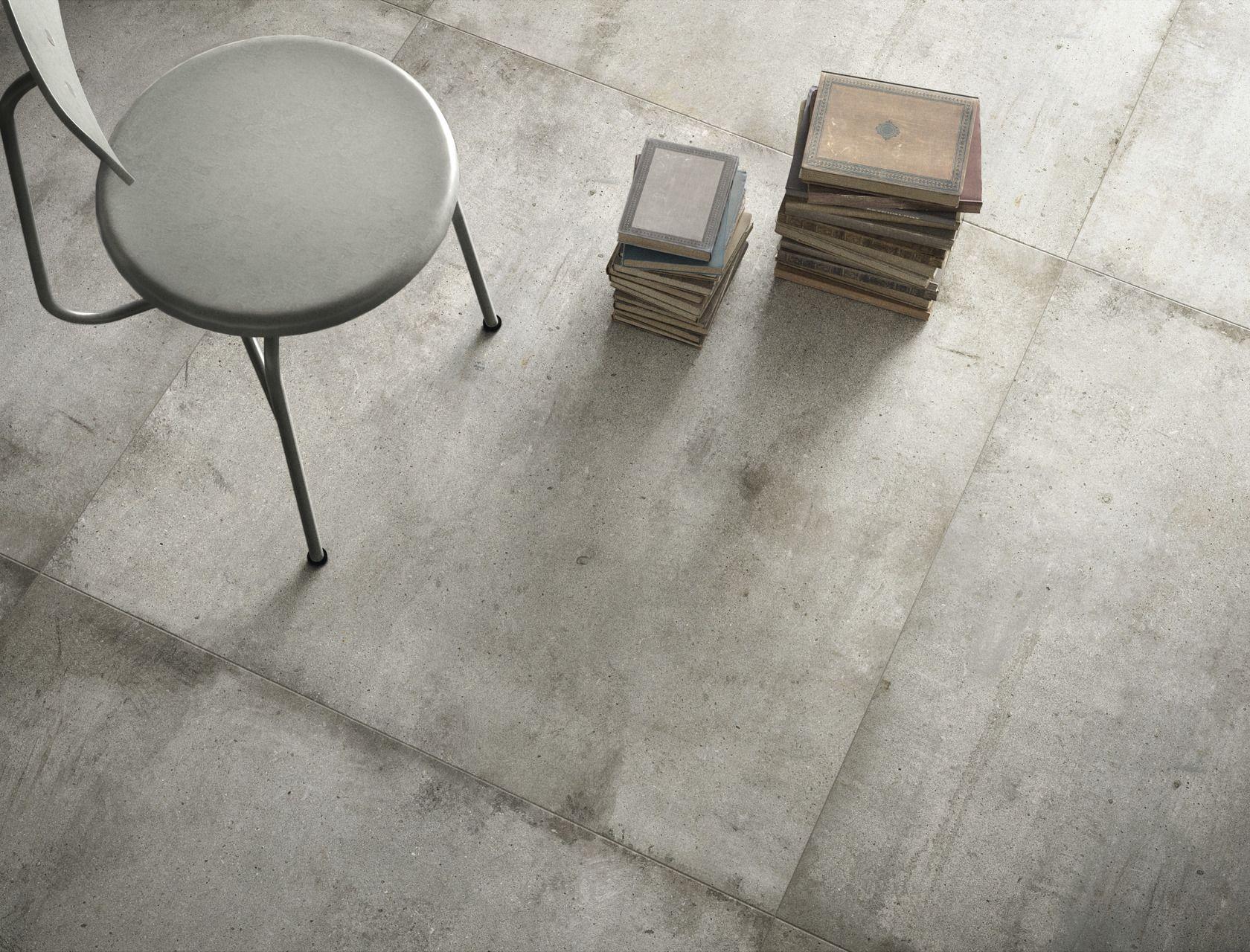 Light Grey Ultra Teknostone Grey Stone Effect Floor And