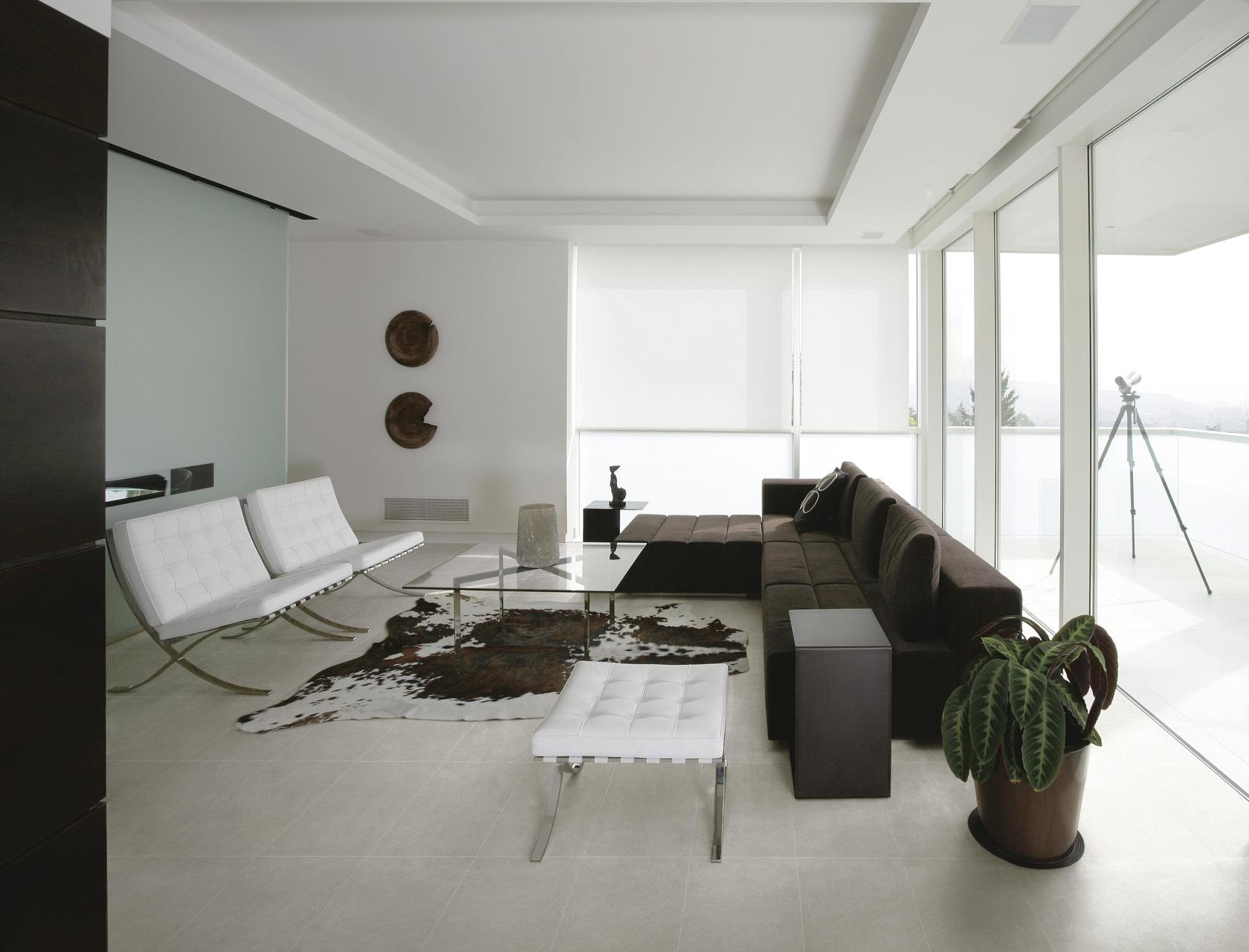 Grey Porcelain Tiles Mist Grey
