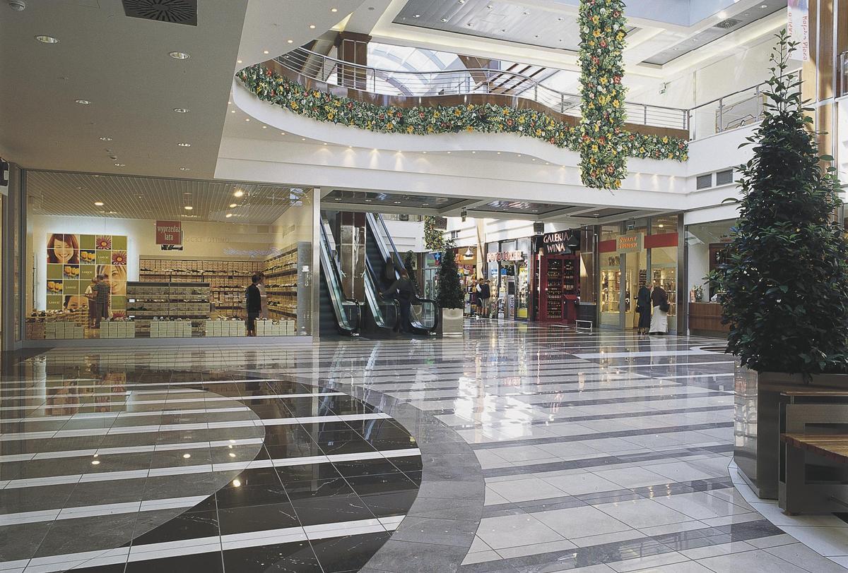 Poznan Plaza Shopping Centre Shopping Centres Ariostea