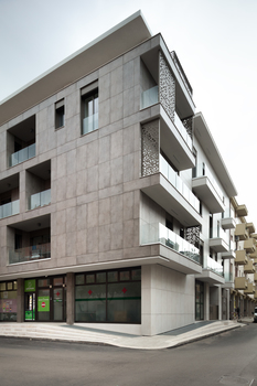 Lucera residential building