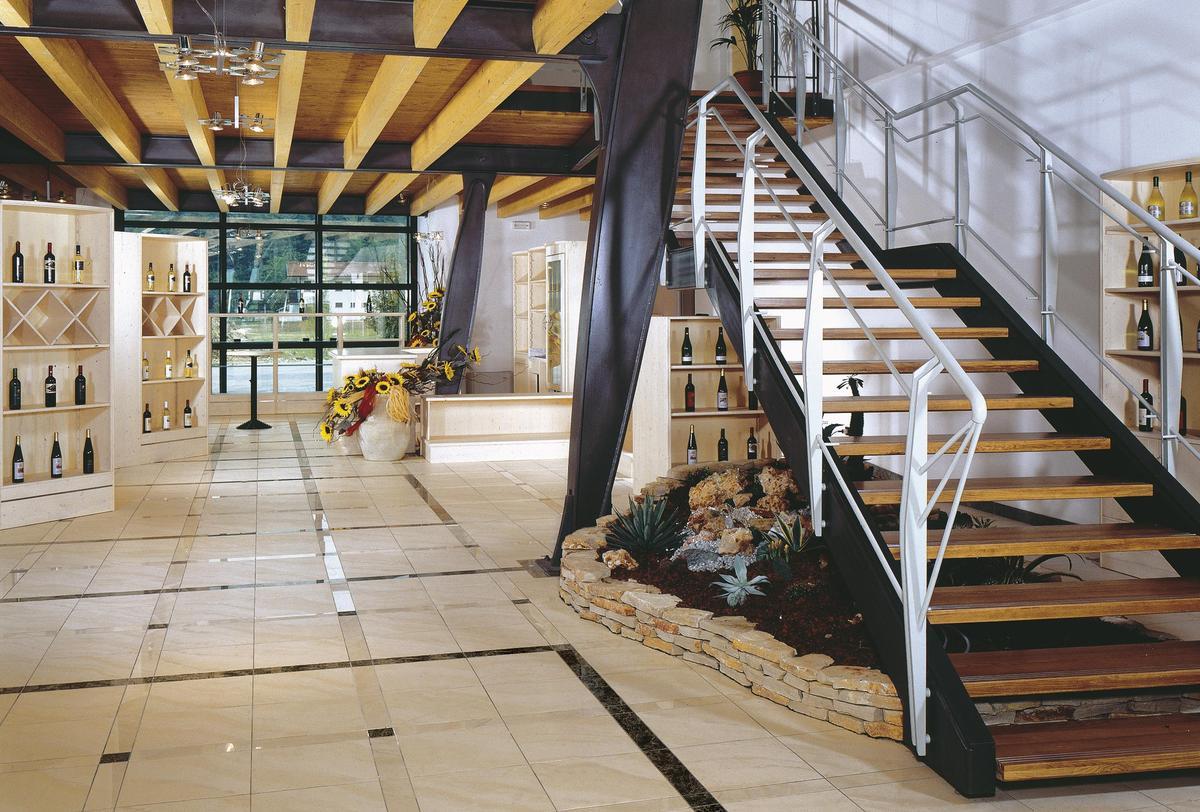 Santa Augusta Wine Factory Shops And Showrooms Ariostea