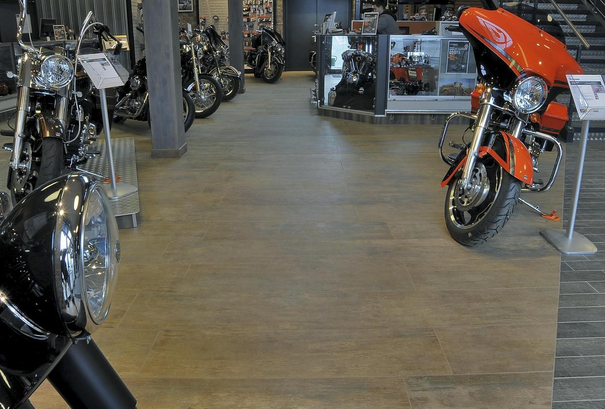 Harley Davidson Klagenfurt Shops And Showrooms Ariostea