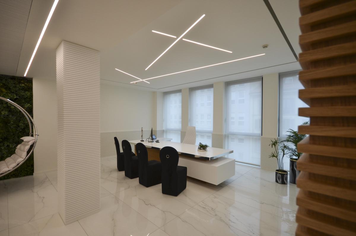 Studi Design Interni Milano.Milan Law Firm Offices Ariostea